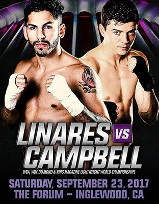Ver Linares vs Campbell en Vivo Gratis