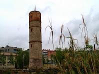 La Torre del Gas vista des dels Horts del Trabal