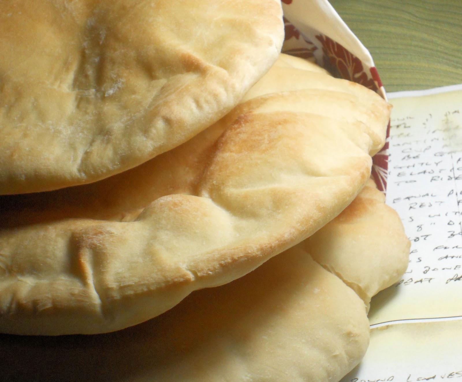 laughingspatula.com: Pita Bread - Syrian Style