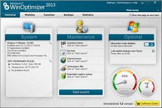 Ashampoo WinOptimizer 2013 1.0.0.12399
