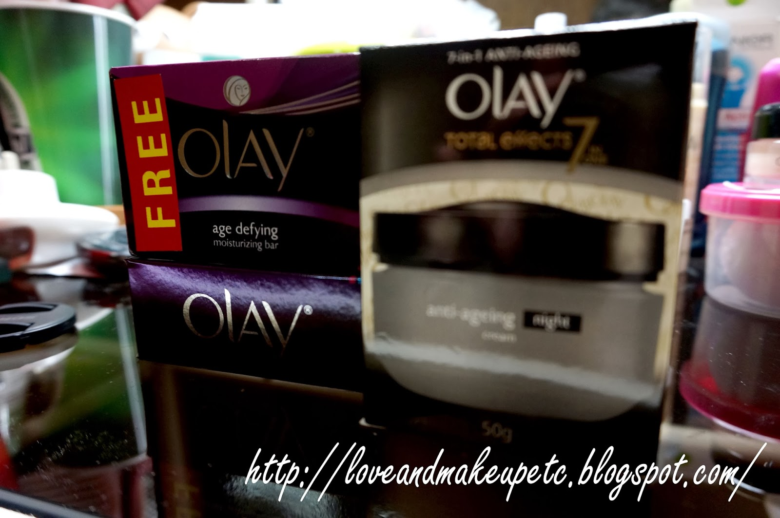 Love Makeup Etc Review Olay Total Effects 7 In 1 Anti Ageing One Night Cream 50gr I Have Been Using The Line For Almost A Month Now You Can Read About It On My Routine Post Anyway Was Sale When Got