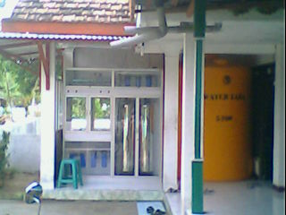 Pemesanan Depot air minum ISULA PAKET 13,5 JUTA