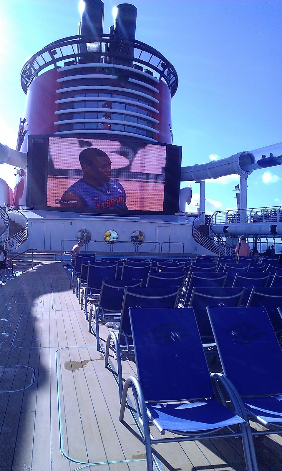 Main Deck Disney Fantasy Cruise ship