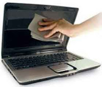 Membersihkan layar laptop/lcd secara tepat