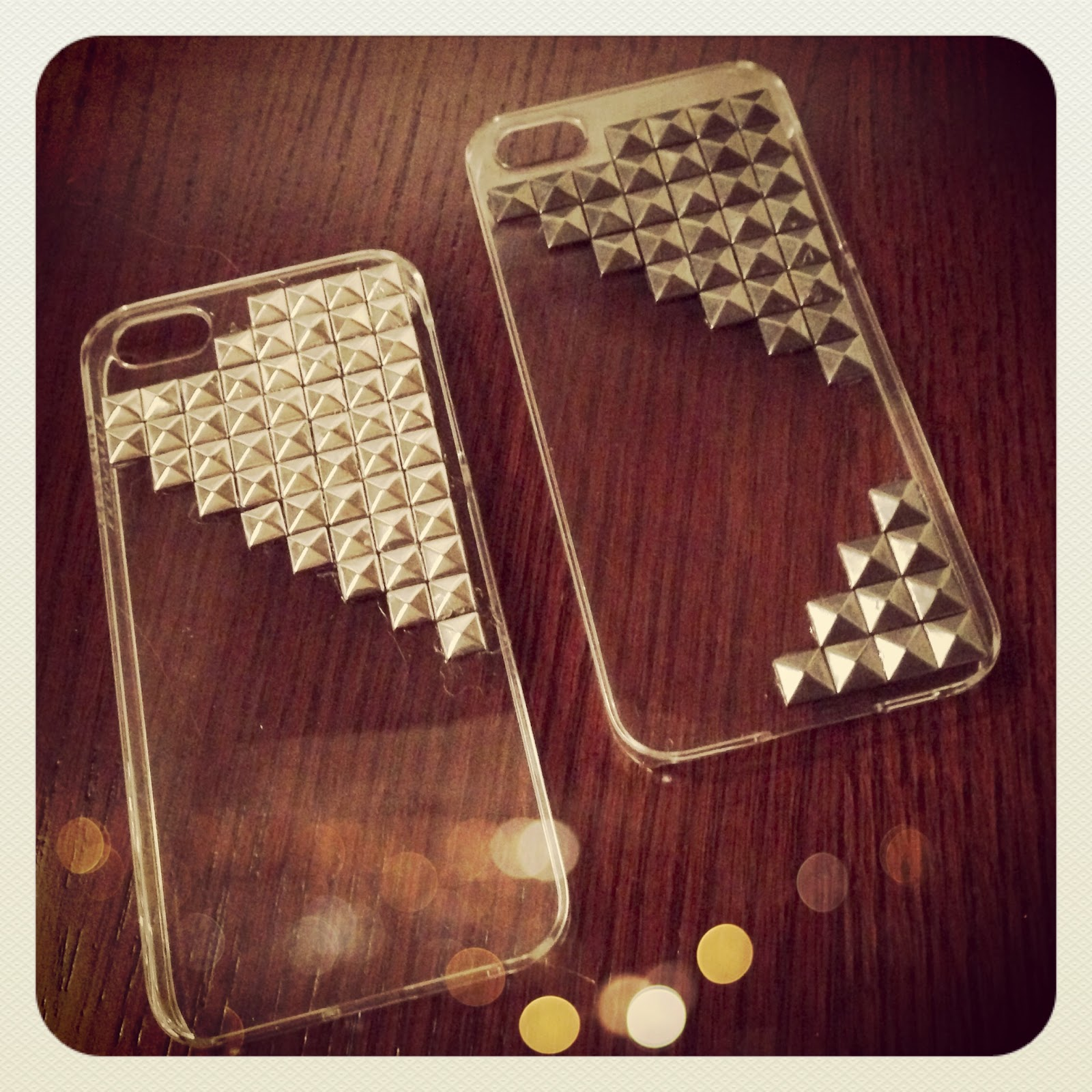 Oh that annelie diy project studded iphone case for Homemade iphone case