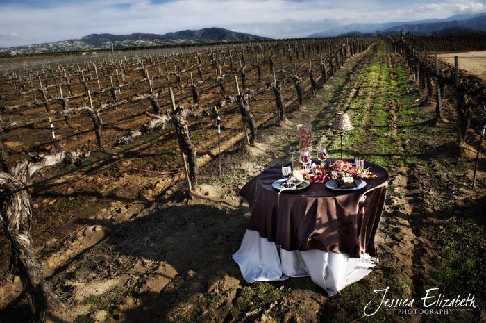 arreglo de mesa rustica en el campo boda ideas mantel- country tablescape