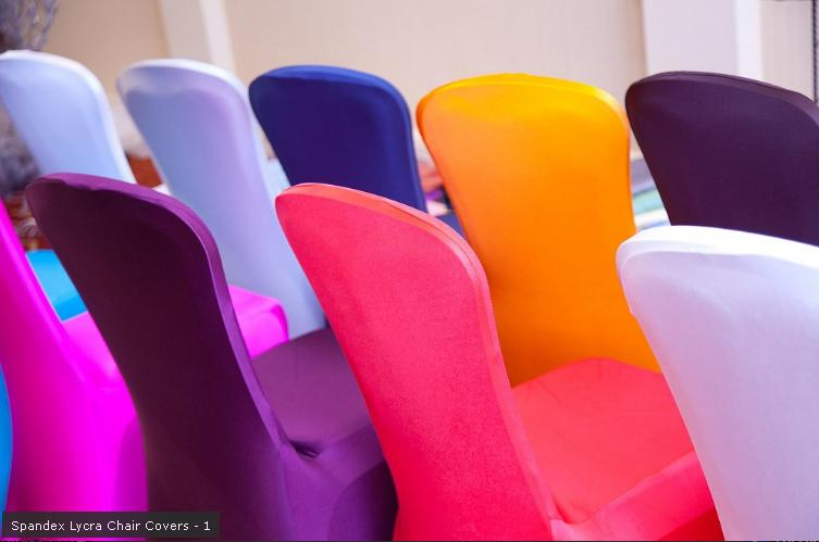 Wedding Chair Covers – Lycra Chair Covers