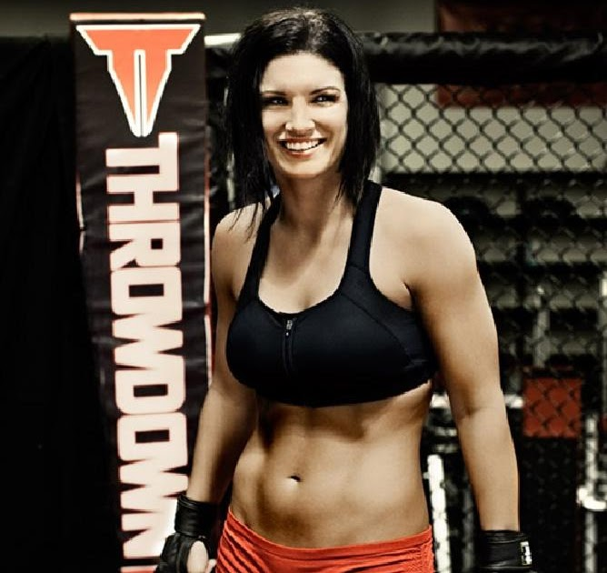 Focused Distortion: Gina Carano Goes Haywire on Channing ... Channing Tatum