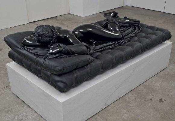 barry x ball esculturas mármore negro clássicas obras-primas