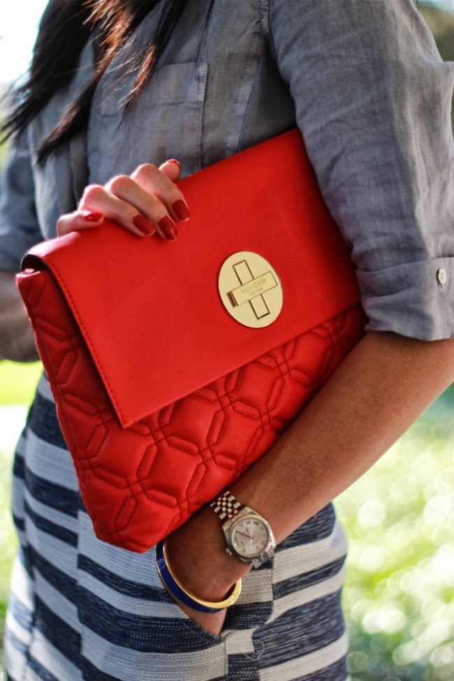 red hangbag quilted bag chanel classic kate spade quilt