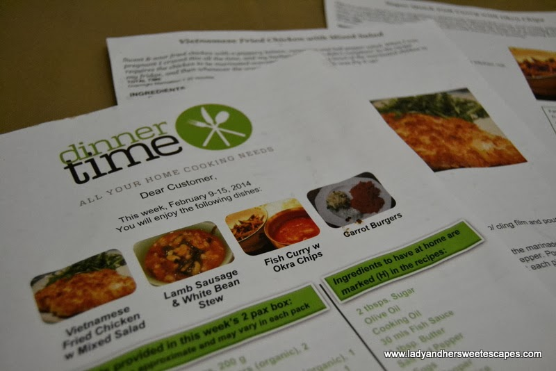 DinnerTime: All Your Home Cooking Needs