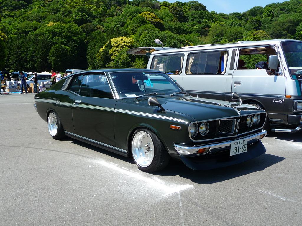 Toyota Corona Mark II X10 X20, japoński stary samochód, zdjęcia, nostalgic, dawny, トヨタ, クラシックカー, トヨペット