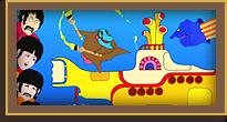 Поём «Yellow Submarine» всем классом! А великие «The Beatles» едут к нам в школу на Новый год!