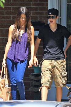 Biebs and Selena