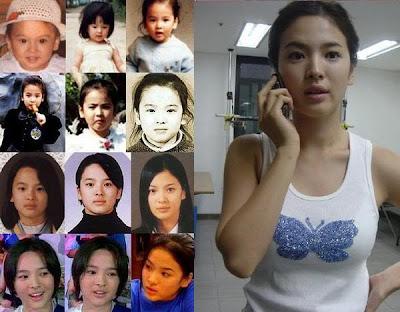 Artis-Artis korea Yang Paling Cantik - Song Hye Gyo