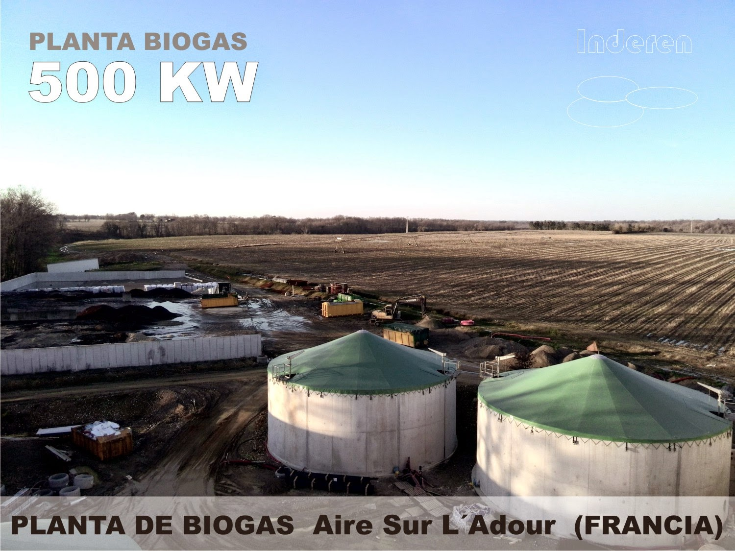 anaerobic digestion AD Biogas Bioenergy Inderen