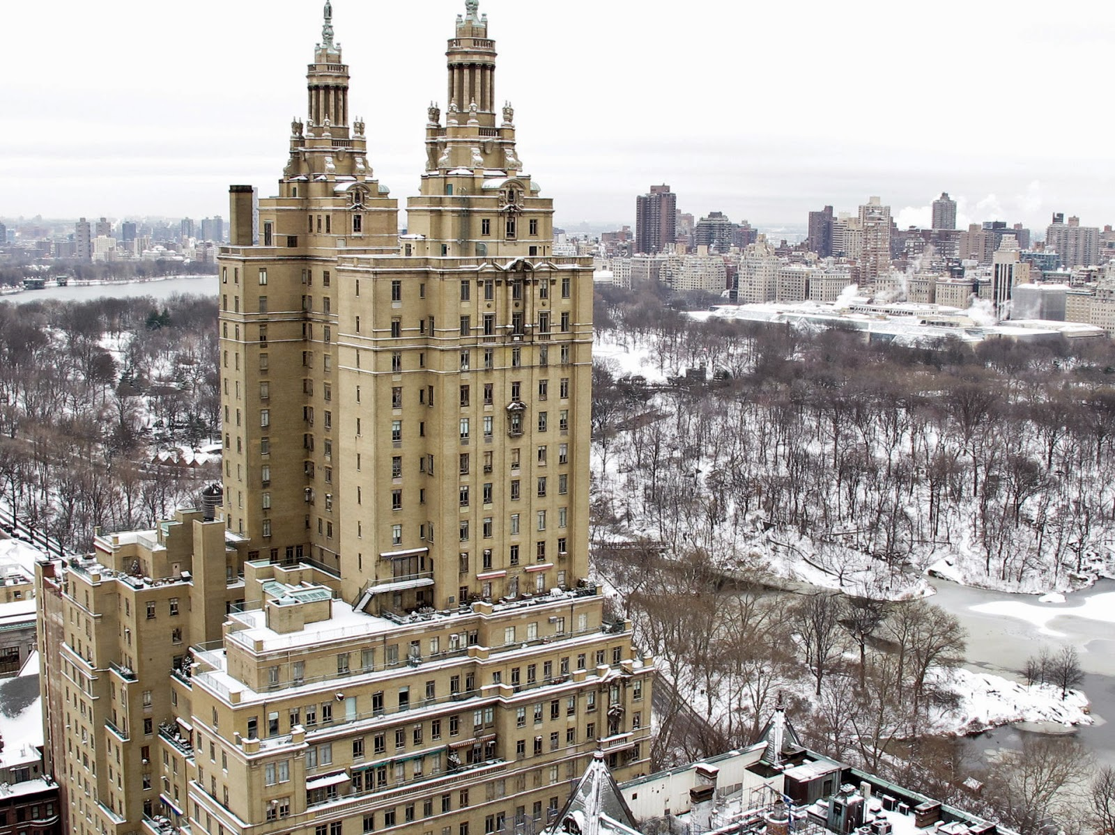 San Remo co-op building on Central Park in New York City