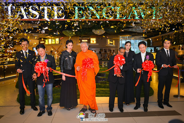 Official opening of Taste Enclave at Avenue K