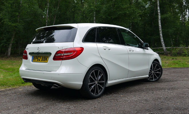 Mercedes-Benz B-Class rear view