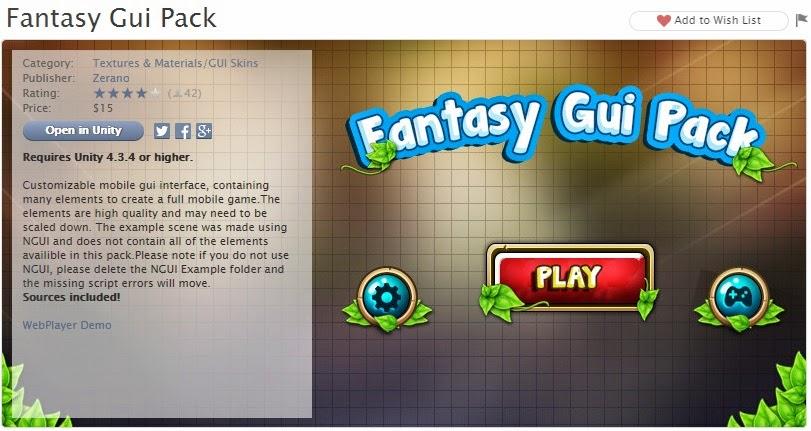 Fantasy Gui Pack