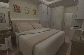 Jasa Interior Bedroom kamar tidur Desain Realistis