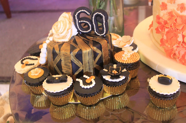 1920s themed cakes and cupcakes