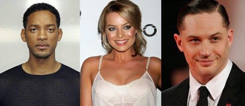 Will Smith, Margot Robbie and Tom Hardy Join Suicide Squad