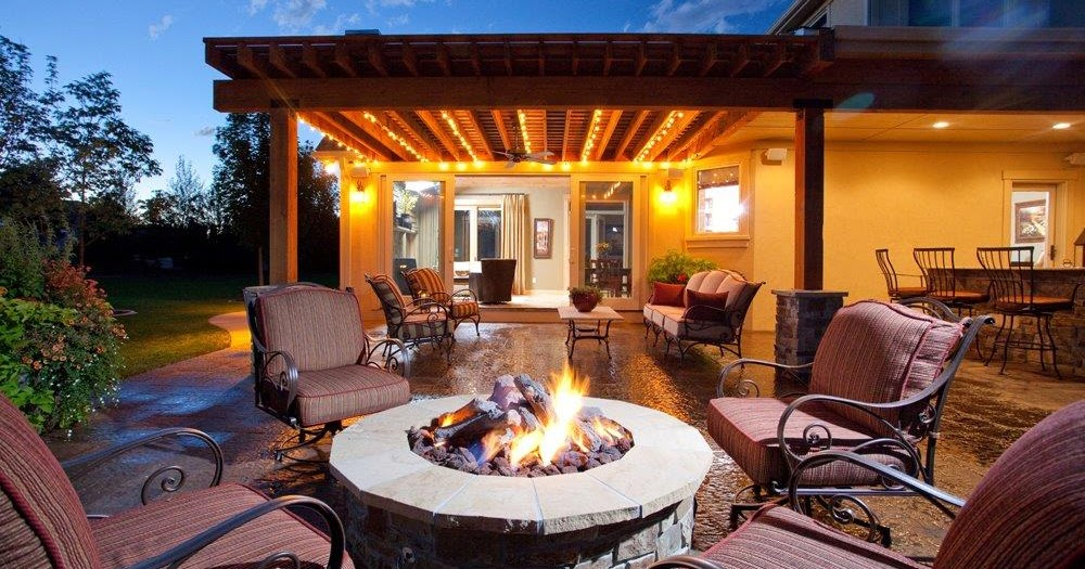 Fire pit designs backyard and patios for Do it yourself fire pit designs