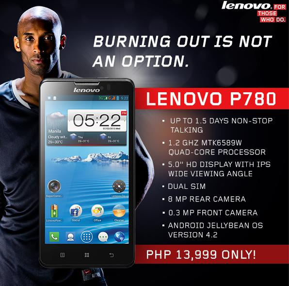 Latest Lenovo P780 Quad Core android smartphone selling points are ...