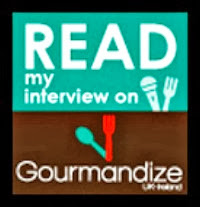 I was featured in Gourmandize magazine, click below! ♥
