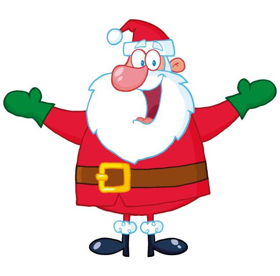 Alegre Santa Claus