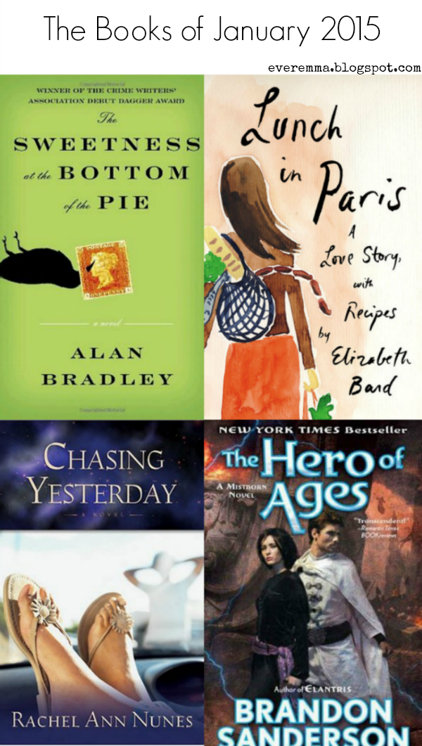 The Books of January 2015