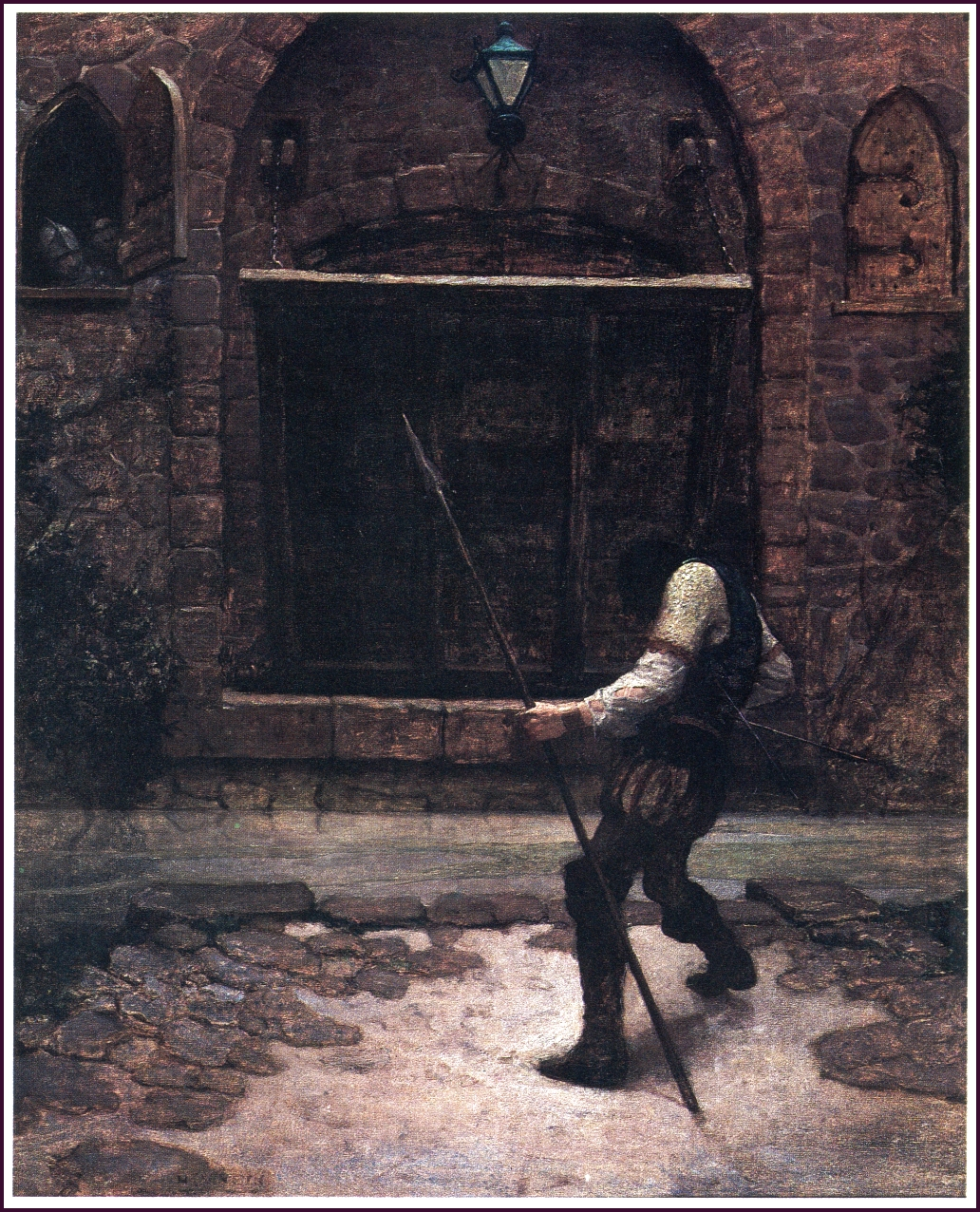 The Black Arrow by Robert Louis Stevenson, 1920