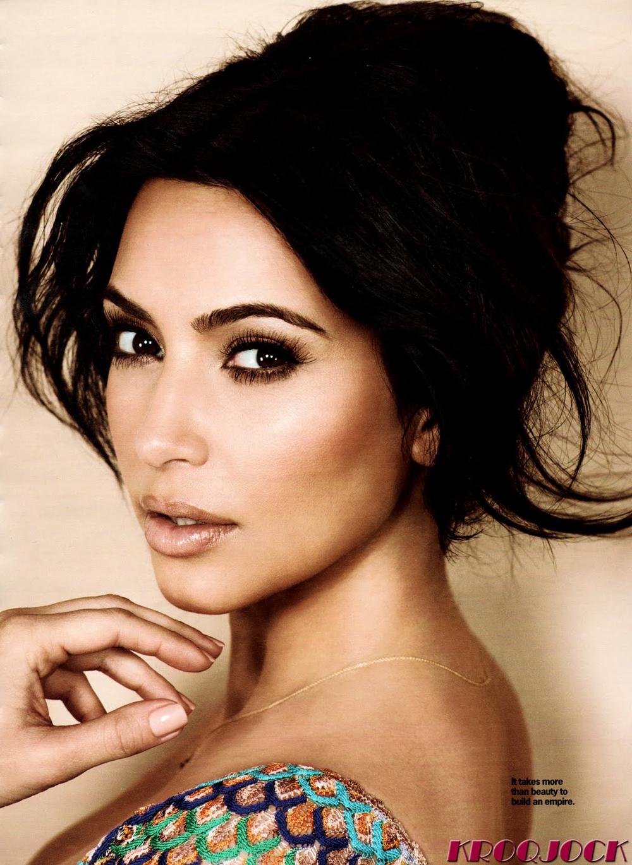 Kim Kardashian Updo Hairstyles 05