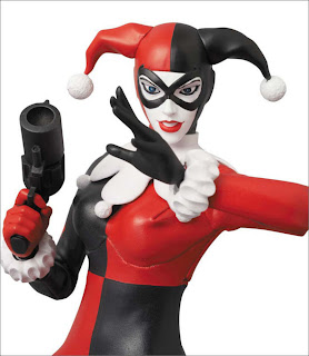 "Medicom RAH 12"" Batman: Hush Jim Lee Styled Harley Quinn Figure"