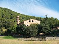 Vista general del Castell de Fluvià amb la seva torre