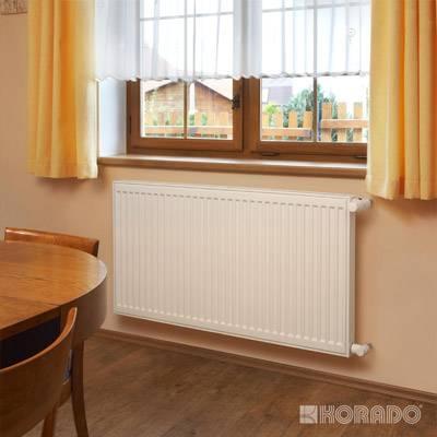 Unidad radiador de calefacción residencial