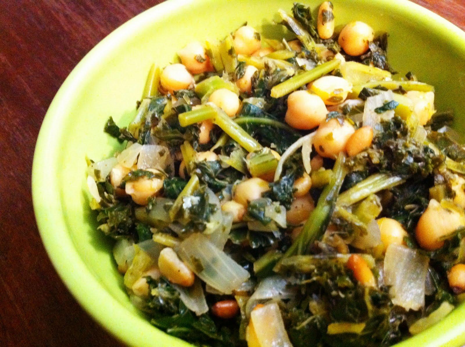 Ginger Rose: Cookin' Greens Sautéed Kale with Lemon ...