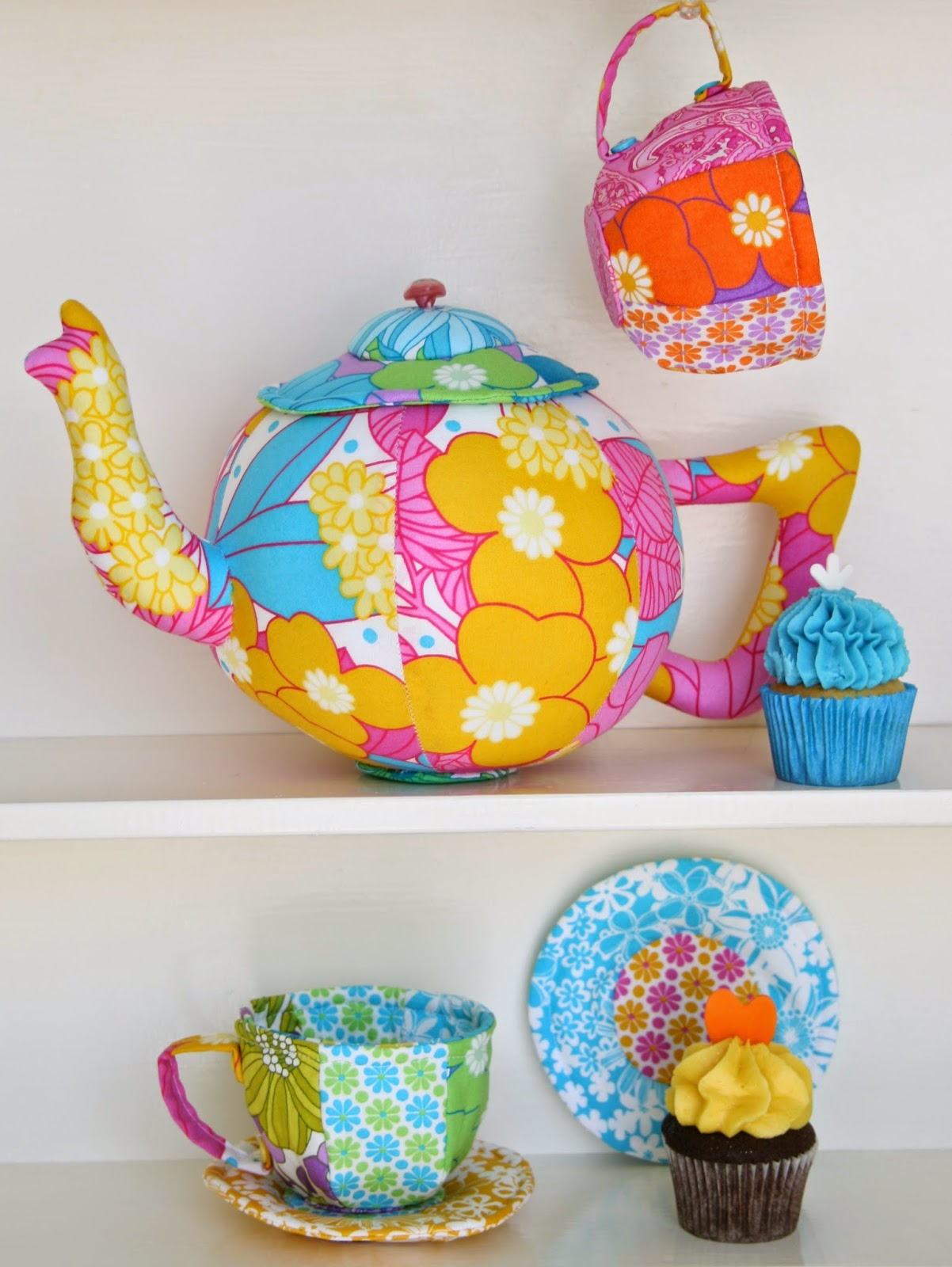 fabric tea set sewing pattern