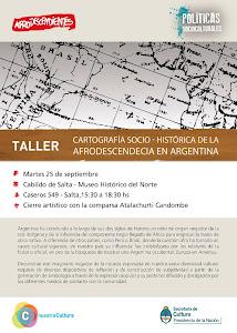 Cartografía de la Afrodescendencia en Argentina