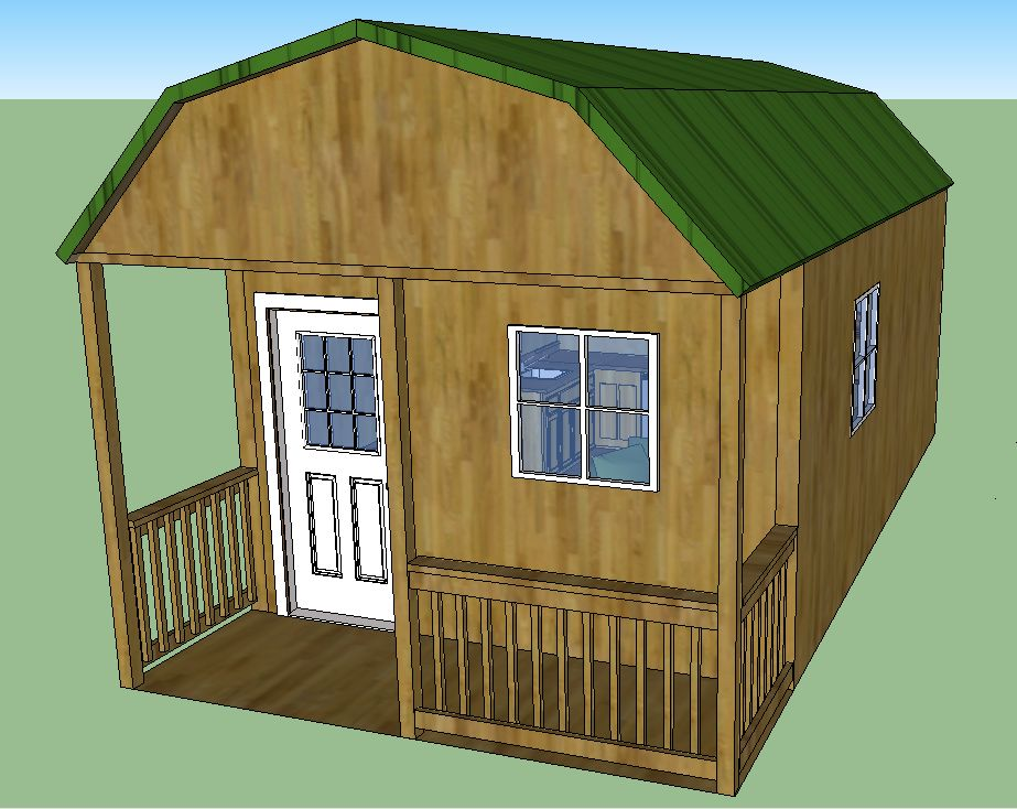 124 JPJ Ranch 3285305 together with 12 X 24 Lofted Barn Cabin In Sketchup moreover 124 JPJ Ranch 3285305 as well 124 JPJ Ranch 3285305 likewise 124 JPJ Ranch 3285305. on 16x40 cabin furnished