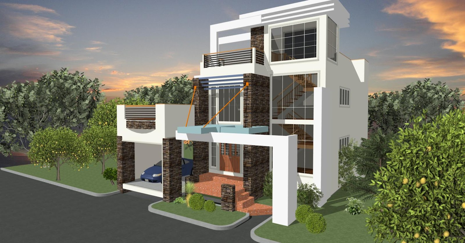 Dream home designs erecre group realty design and for Latest model house design