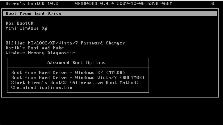 Instal Hiren's Boot 10 pada Flasdisk 100% Work   Sharing ...