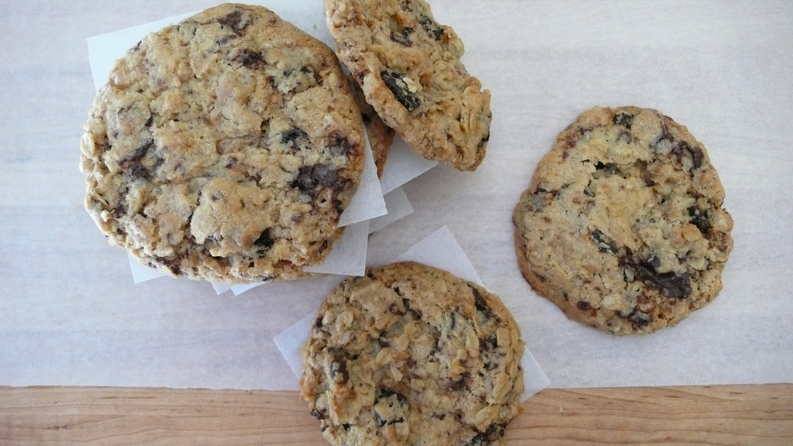 Dough and Batter: torie's cherry chocolate chunk cookies - recipe #1 ...