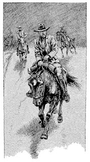 horse rider western stock image