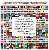 Orando por todas las naciones