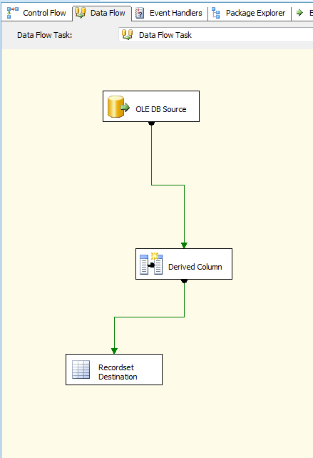 How to Loop through each record in a SSIS in-memory ADO Recordset Table 2