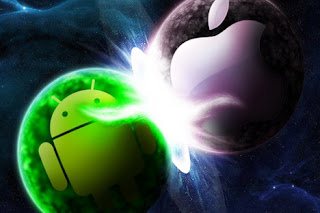 Collision Between Apple Android