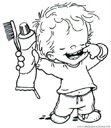 Dibujo de limpieza bucal - Imagui