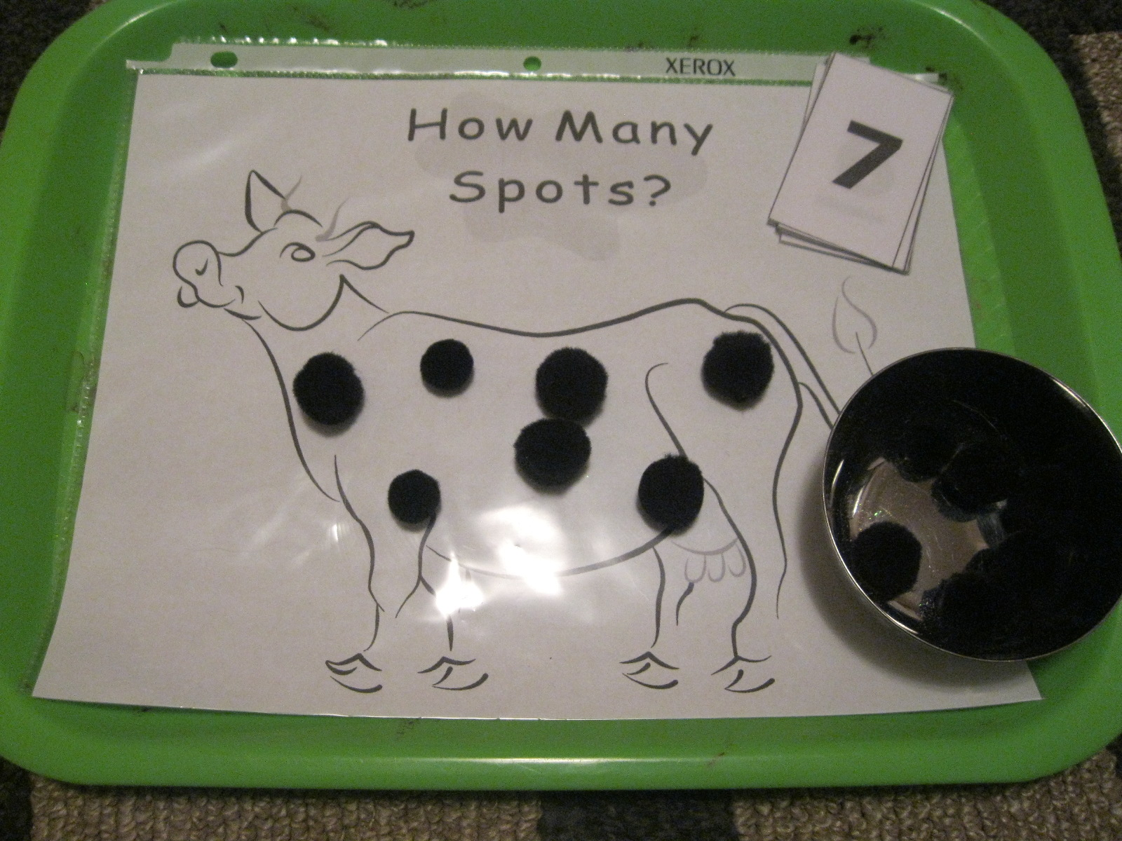 How Many Spots? (Photo from The Preschool Experiment)
